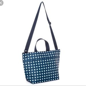 Thirty One Crossbody Thermal Tote - Goin Gingham